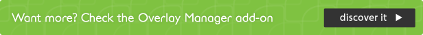 manager de acoperire add-on