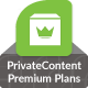 PrivateContent - WordPress Bundle Pack 9