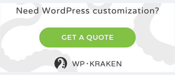 need wordpress customizations?